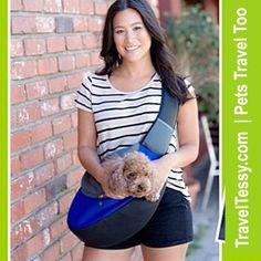 Over Shoulder Nylon Pet Carrier We Love!