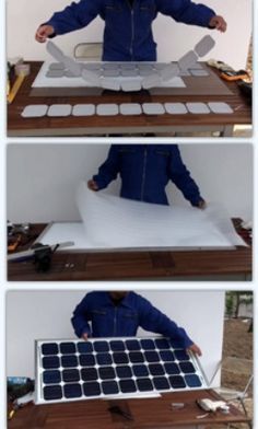 Any motivated do-it-yourselfer can learn how to make solar panels for their home, workshop or business.