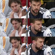 fuckyeahgasol:  Pau and Marc Gasol   The greatest brothers in the whole nba!!!!!! :-)