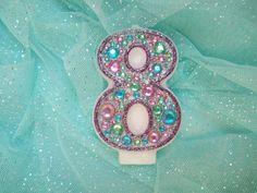 Dress up your birthday with jeweled and by GlitterWishesbyKara, $8.00