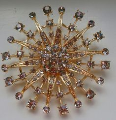 Starburst Brooch Huge
