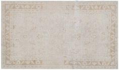 "#16159 Origin:Afghanistan Design:European Size:2' 3"" x 3' 12"" Sqft:8.81′ Color:Beige"