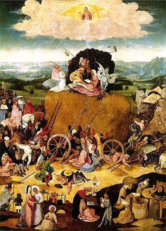 Le Chariot de foin, 1501-1502