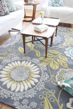 Lacework rug by the unstoppable Amy Butler
