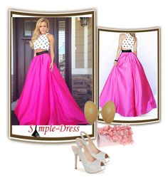 """""""Simpledress-7"""" by dzemila-c ❤ liked on Polyvore featuring Lauren Lorraine"""