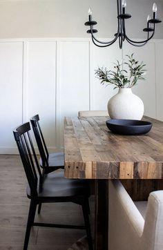 Home Interior, Interior Design, Simple Interior, Farmhouse Interior, Home Design Decor, Contemporary Interior, Interior Paint, Interior Decorating, House Design