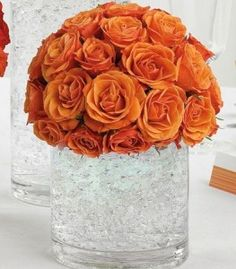seems some of the wedding trends for this year are tangerine colours - which is great cos i love orange!!