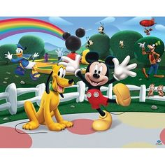 Fotomural Infantil Mickey Mouse