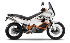 2012 ktm 990 adventure right angle view
