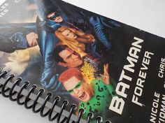 VHS Notebook 4.00 X 7.50 90 pages Batman Forever Writing