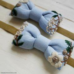 handmade bow by yumiko higuchi