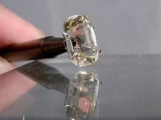 6.57 carats Fine Heliodor Beryl Faceted by DanPickedMinerals