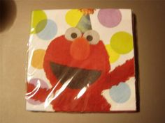 Sesame Street Napkins for Any Occasion Party | eBay - $5.99