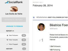 Social Rank. Detecter vos meilleurs followers sur Twitter