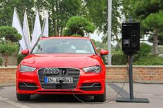 fully charged into the future with the AUDI A3 sportback e-tron