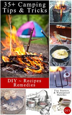 Diy Projects: 35+ Camping Tips And Tricks & Treats