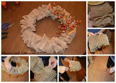 15 minutes, 3 materials, and less than $8.00! This just might rank as one of my most 'successful' projects for those reasons alone! Wreaths can suck in your money whether you are making your own or...