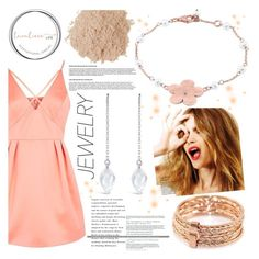 """""""Lavaliere"""" by gaby-mil ❤ liked on Polyvore featuring Topshop, Celestine, Eve Lom, jewelry and lavaliere"""