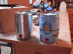 The 5 liter kegs can be obtained in one of two ways You can order new kegs with no graphics online fora price of $10 – $12 a keg plus shipping (keg on left), or if you can buy the kegs with beer in them at a cost of $20 to $22, drink the beer,...  Read more »