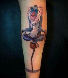 rafiki tattoo from lion king monkey tattoo | Tat ideas ...