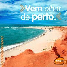 #CanoaQuebrada é um dos destinos mais visitados em #Fortaleza. Você consegue imaginar por que? :P