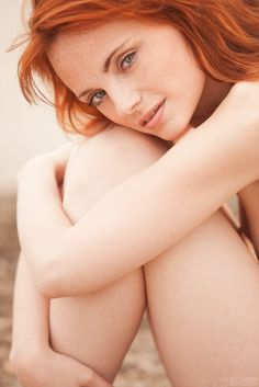Freckles Hot redhead with