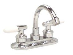 Premier 204340LF Ashbury Lead-Free Centerset Two-Handle Lavatory Faucet, Chrome