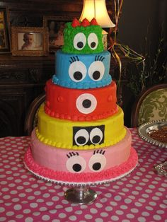 Yo Gabba Gabba Party Ideas!!