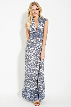 Contemporary Tile Maxi Dress | Forever 21 - 2000150526