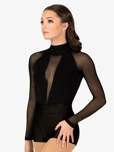 Performance wear and dance outfits features on-trend looks for all genres of interact. Hip Hop Outfits, Dance Outfits, Dance Dresses, Party Outfits, Dance Bodysuits, Cute Dance Costumes, Contemporary Dance Costumes, Pullover Shirt, Ballet Clothes