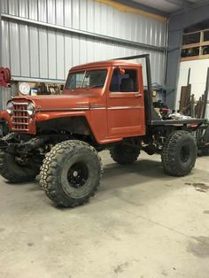 Willys pickup with flatbed