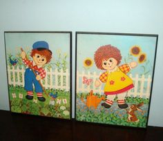 Vintage Raggedy Ann And Andy Pictures