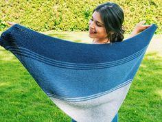 The Meraki Shawl by Danii's Ways – Clover Needlecraft Free Knit Shawl Patterns, Knit Wrap Pattern, Beginner Knitting Patterns, Easy Knitting, Knitting Stitches, Knitted Shawls, Crochet Shawl, Interchangeable Knitting Needles, Opening An Etsy Shop