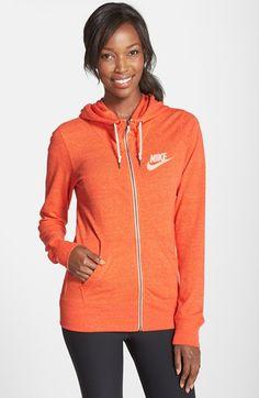 Nike 'Gym Vintage' Zip Front Hoodie