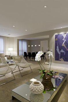 Arte e suavidade em apartamento paulistano (Foto: Divulgação) Com aproximadamente 250 m², esse apartamento na Vila Nova Conceição