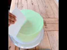 Learn how to cover a dummy cake with buttercream and also achieve a water colour effect. Would you like to Master the art of buttercream cake decorating?