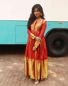 Bridal Blouse Stitching in Chennai, PattuPavadai Stitching In Chennai, Lehenga Stitching in Chennai, Wedding Blouse stitching in Chennai, Ladies Tailoring. Saree Gown, Sari Dress, Lehenga, Ethnic Outfits, Indian Outfits, Fashion Outfits, Indian Fashion Trends, Ethnic Fashion, Long Gown Dress