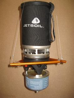 Hanging Stove Project - JetBoil Personal Cooking System