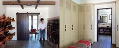 Tack room & lockers at Lucky Jack Farm / designed by Blackburn