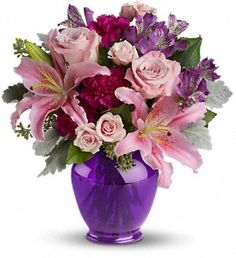 Elegant Beauty. http://villeresflorist.com/metairie-florist/mothers-day-flowers-97c.asp?topnav=TopNav #MothersDay