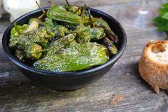Friterad grön chili