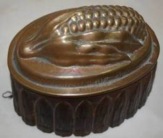 Blancmange or jelly mold, appears to be missing its setting ring.