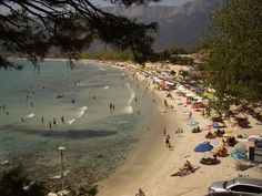 Golden beach, Thassos Greece
