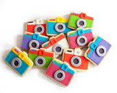 mini dianas cookie gift box (12 camera cookies)