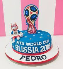 Resultado de imagen para you tube tortas del mundial 2018 y zabivaka New Birthday Cake, Birthday Cup, Happy Birthday, Word Cup, World Cup Russia 2018, Square Cakes, Cakes For Boys, Love Cake, Birthdays