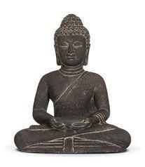 Stone Buddha Candle Holder