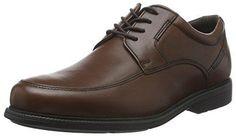 Oferta: 99.9€ Dto: -52%. Comprar Ofertas de Rockport Charlesroad Apron Toe, Zapatos de Cordones Derby para Hombre, Marrón-Braun (Tan II), 43 EU barato. ¡Mira las ofertas!
