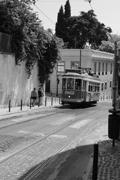 Lisbon in black and white. July 2014