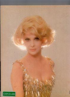 On old portrait the great #GinaLollobrigida as a blonde ||| #MemoryCinema