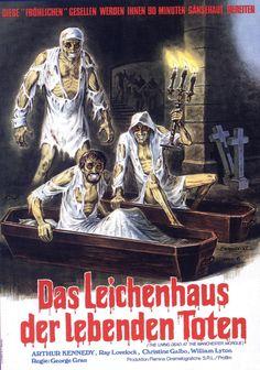 Das Liechenhaus der lebenden Toten by George Grau